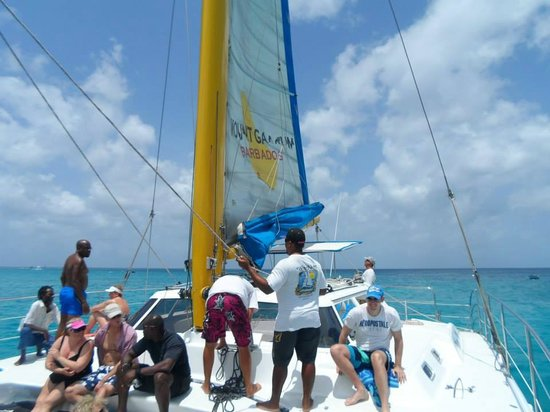 Barbados Sailing.com: Not crowded