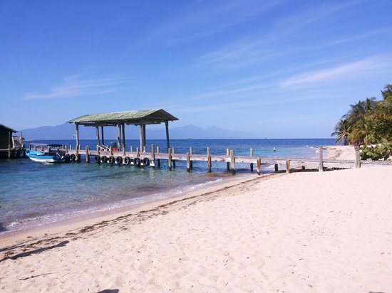 Cabanas Laru Beya : Muelle Cayo Menor, Fundacion Cayos Cochinos