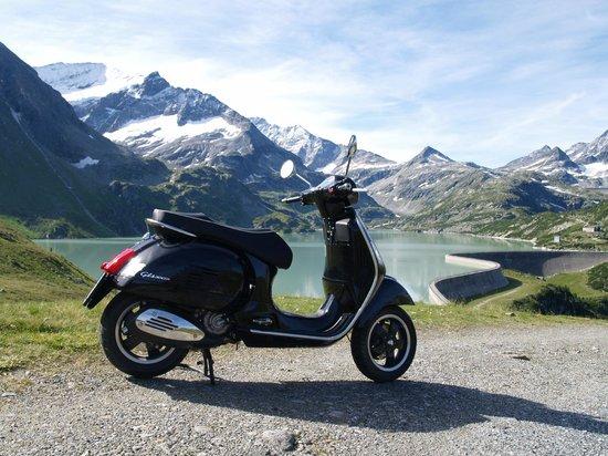 Alpengasthof Paletti: auch vespa willkommen !