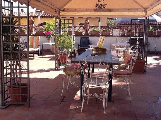 Hotel Il Bargellino : Terrace
