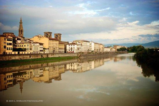 Hotel Il Bargellino : View from the bridge