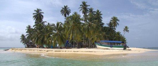 Dolphin Lodge Uaguinega: Ilhota em San Blas