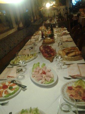 Ristorante Sneton Restaurant: snetonstube..sala