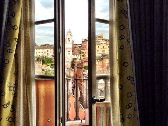 Portrait Roma: Terrace