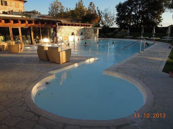 San Giovanni Terme Rapolano: la piscina esterna