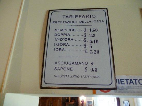 Vini da Gigio: Ekstra service fra de gode gamle dage
