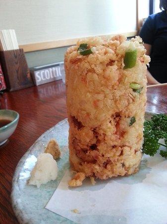 Maruten Uogashi: 名物のかき揚げ