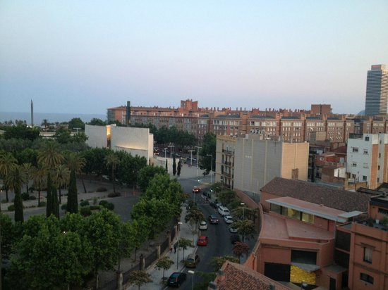 Hotel 4 Barcelona: Вид на море