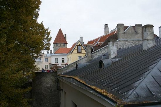 Rixwell Old Town Hotel: Blick vom Balkon