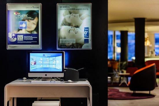 Novotel Berlin Mitte: IMAC Business Corner