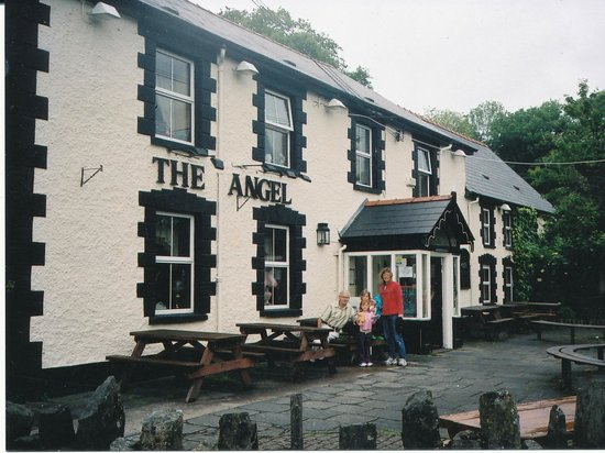The Angel Inn At Glynneath - Picture Of Angel Inn -1768