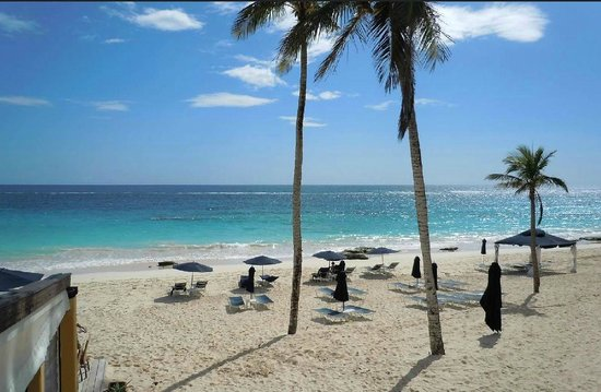 Elbow Beach, Bermuda: Private Elbow beach