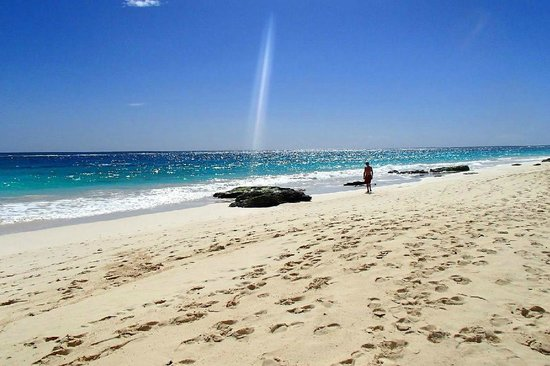 Elbow Beach, Bermuda: Private beach