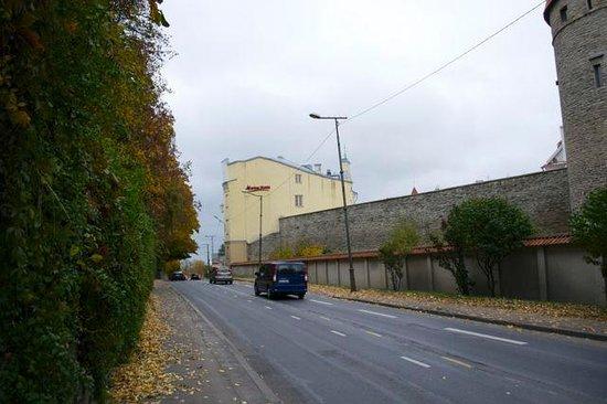 Rixwell Old Town Hotel: von der Rückseite aus