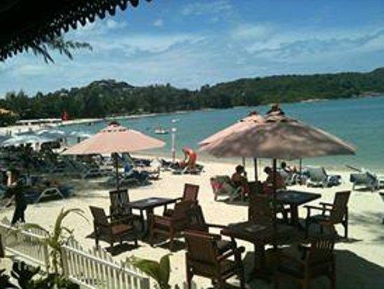 Imperial Boat House Beach Resort: ristorante sulla spiaggia