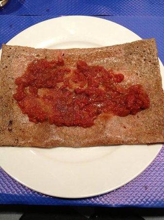 Creperie du Port de Plaisance: lard tomate concassée