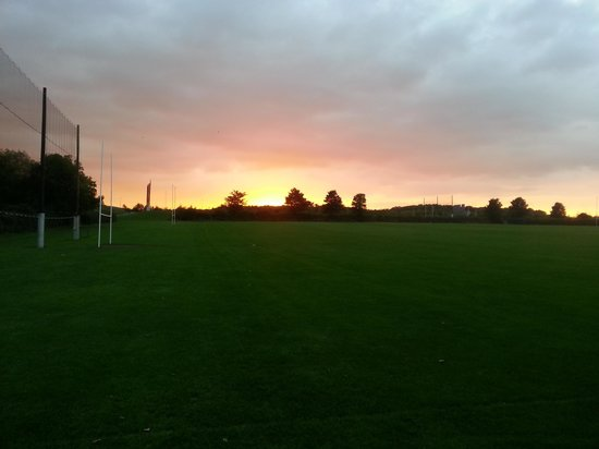 Tymon Park: Peace and quiet on the pitches
