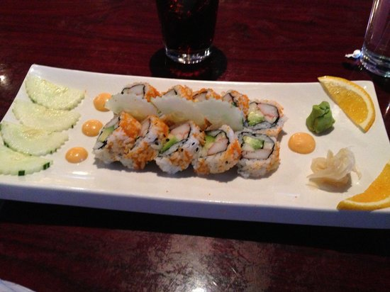 Tamarind Thai Cuisine : California roll, watched them make it fresh. So delicious, the best I've ever had.