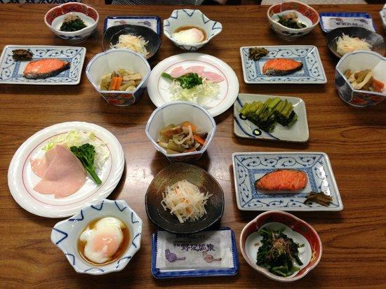 Sunrise Meijiya: Breakfast