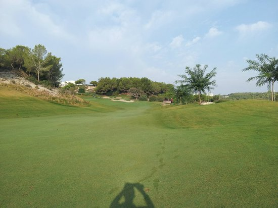 Las Colinas Golf & Country Club: Early in the round