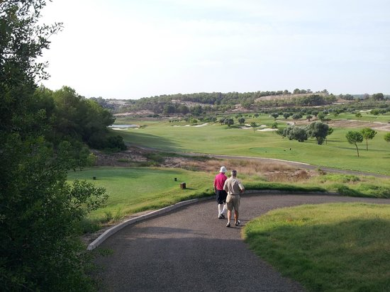 Las Colinas Golf & Country Club: On the course