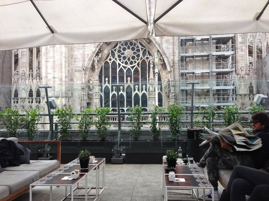 Il Bar : View of the Duomo