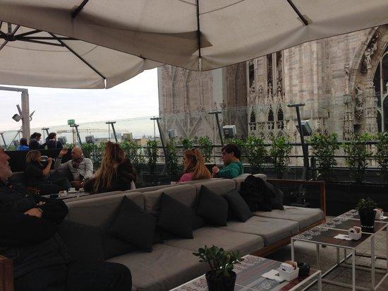 Il Bar : Comfortable seating