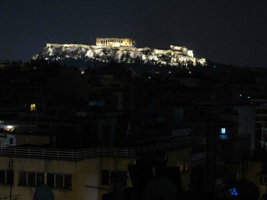 Novus City Hotel : Blick von Dachterrasse