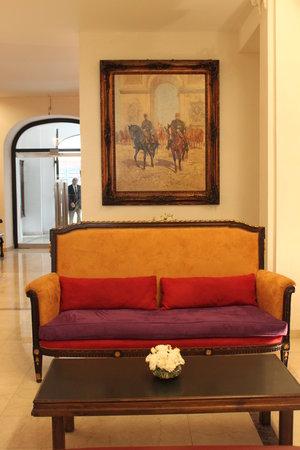 Hotel Club Frances: Lobby