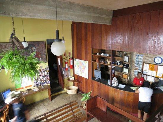 Laranjeiras Hostel: recepção