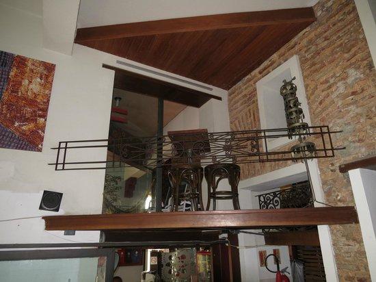 Laranjeiras Hostel: área interna
