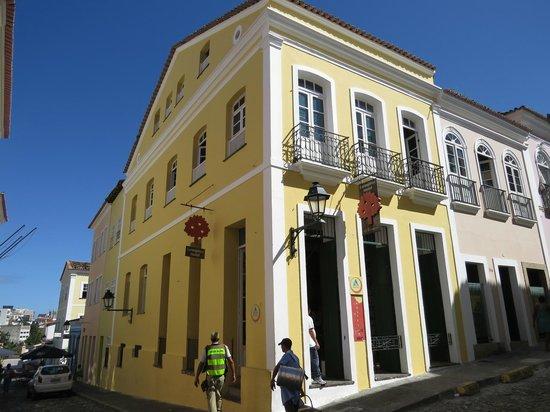 Laranjeiras Hostel: vista externa