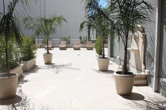 Hotel Club Frances: Terrace