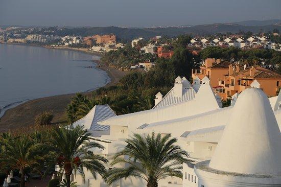 H10 Estepona Palace: Looking out to Bahia Azul