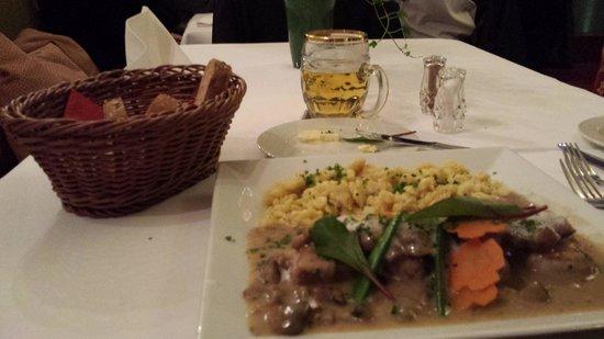 Hotel Zur Heimat: Cena