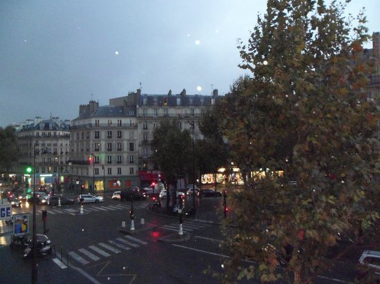 Grand Hotel de Paris: View from the room