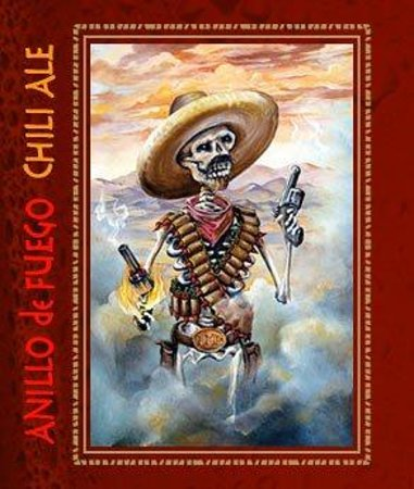 Los Muertos Brewing: CHILI ALE Logo