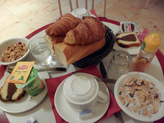Grand Hotel de Paris : Breakfast