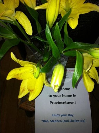 Prince Albert Guest House: Wonderful welcome to my home while in Provincetown
