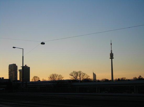 Hotel Lenas Donau: panorama