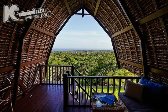 Kamafari Surfcamp: Bungalow view