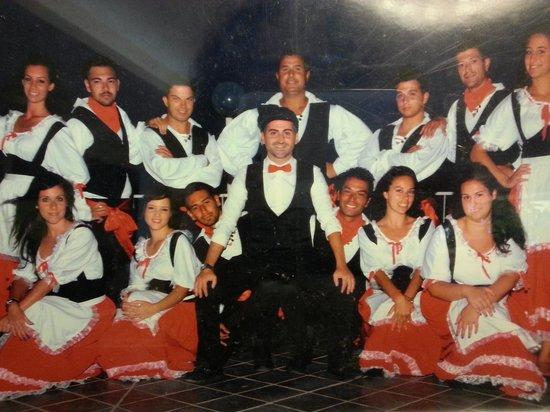 Club Marmara Cala Regina : Uri e il suo team