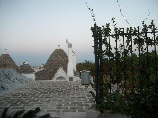 Trulli e Puglia  B&B: View from patio