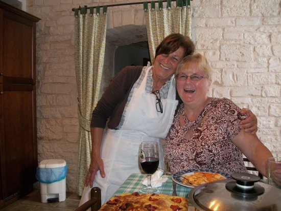 Trulli e Puglia  B&B: Cooking with Mamma Mia
