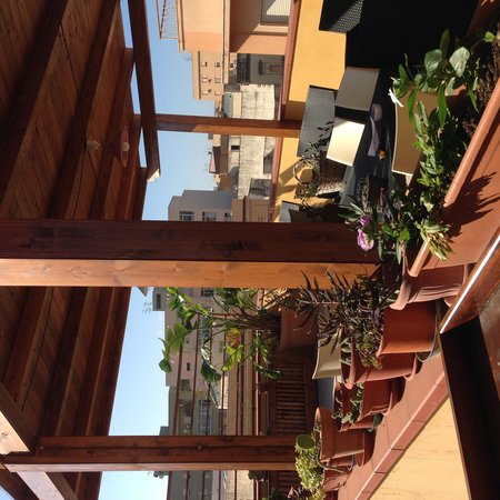 Terrazze Villanova Bed & Breakfast: Terrazza con barbecue