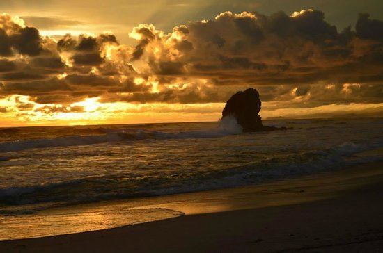Cuesta Arriba Hotel: sunset