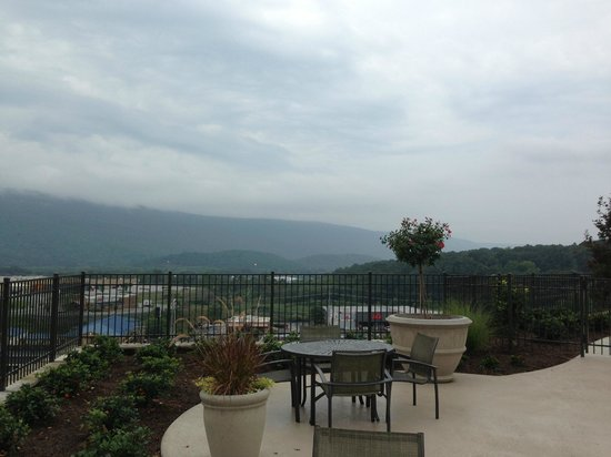 Hampton Inn Chattanooga West/Lookout Mountain : Beutiful view from the pool deck