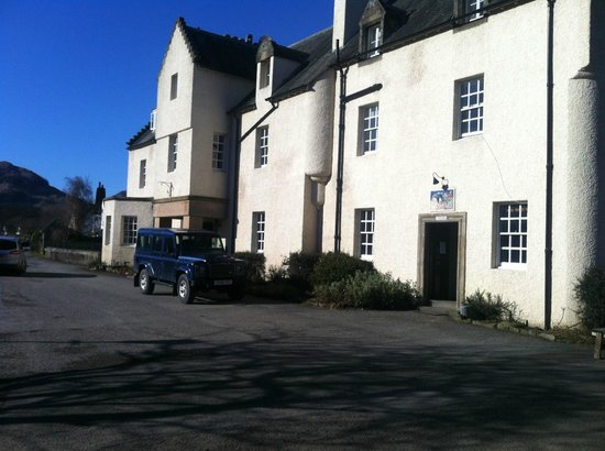 Fortingall Hotel: View from the car park