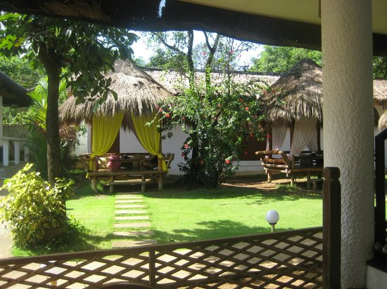 Sunz En Coron Resort: view from eating area