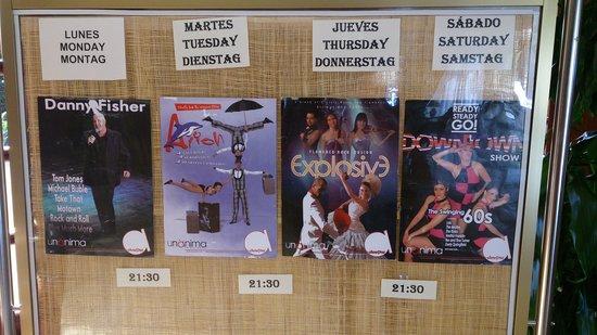 Grupotel Santa Eularia Hotel: In house entertainment!